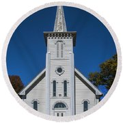 Bethesda Lutheran Church Round Beach Towel