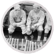 Boston Red Sox, 1916 Round Beach Towel
