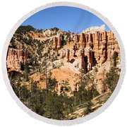 Bryce Canyon Amphitheater Round Beach Towel