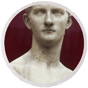 Caligula (12-41 A.d.) Round Beach Towel