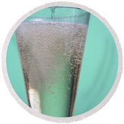 Carbonated Drink Round Beach Towel