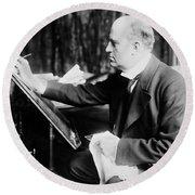Charles Gibson (1867-1944) Round Beach Towel