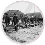 Civil War: Georgia, 1864 Round Beach Towel