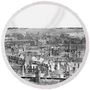 Civil War: Richmond Round Beach Towel
