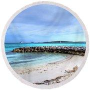 Coco Cay Round Beach Towel