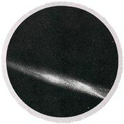 Comet Ikeya Seki, 1965 Round Beach Towel by Science Source