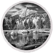Cottonwood Creek Round Beach Towel
