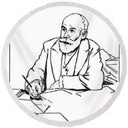 Daniel De Leon (1852-1914) Round Beach Towel