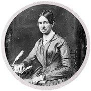 Dorothea Dix (1802-1887) Round Beach Towel