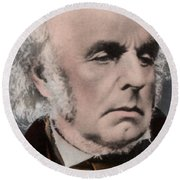Edward Fitzgerald Round Beach Towel