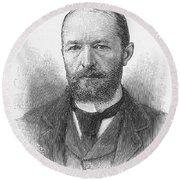 Emil Von Behring (1854-1917) Round Beach Towel