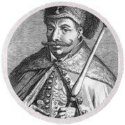 False Dmitry I (1581-1606) Round Beach Towel