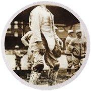 Fred Snodgrass (1887-1974) Round Beach Towel