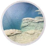 Freshwater Reef Round Beach Towel