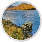 Glen Gour View Round Beach Towel