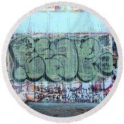Graffiti - Tubs Iv Round Beach Towel