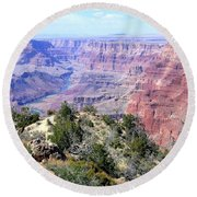Grand Canyon 8 Round Beach Towel