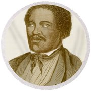 Henry Box Brown, African-american Round Beach Towel by Photo Researchers