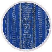Hierarchy Of The Universe, 1617 Round Beach Towel