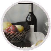 Homage Cezanne Round Beach Towel