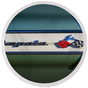 Impala Brightwork Round Beach Towel by Douglas Pittman