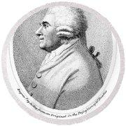 James Beattie (1735-1803) Round Beach Towel