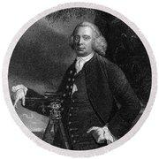 James Brindley (1716-1772) Round Beach Towel