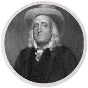 Jeremy Bentham (1748-1832) Round Beach Towel