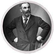 John Burns (1858-1943) Round Beach Towel