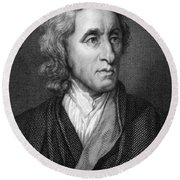 John Locke, English Philosopher, Father Round Beach Towel