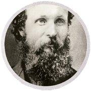 John Muir (1838-1914) Round Beach Towel