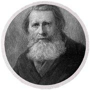 John Ruskin (1819-1900) Round Beach Towel