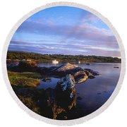 Kenmare Bay, Dunkerron Islands, Co Round Beach Towel