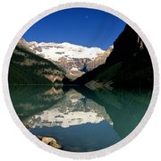 Lake Louise IIi Round Beach Towel