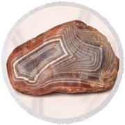 Lake Superior Agate Round Beach Towel