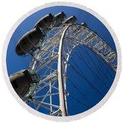 London Eye Round Beach Towel