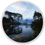 Lough Leane, Lakes Of Killarney Round Beach Towel