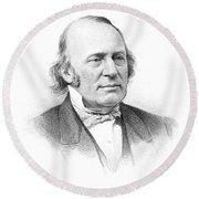 Louis Agassiz (1807-1873) Round Beach Towel