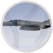 Luftwaffe F-4f Phantom II Round Beach Towel