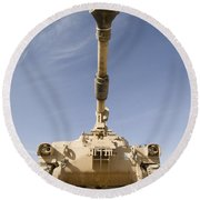 M109 Paladin, A Self-propelled 155mm Round Beach Towel