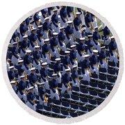 Members Of The U.s. Air Force Academy Round Beach Towel