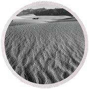 Mesquite Dunes 15 Round Beach Towel