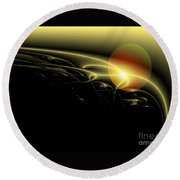 A Star Was Born, From Serie Mystica Round Beach Towel