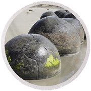 Moeraki Boulders, Koekohe Beach, New Round Beach Towel