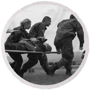 Multinational Medical Personnel Race Round Beach Towel