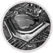 New York: Yankee Stadium Round Beach Towel