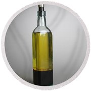 Oil And Vinegar Round Beach Towel