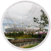 Olympic Park Round Beach Towel