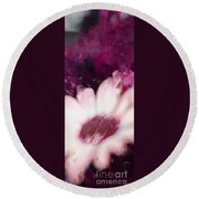 Passion Triptych 111 Round Beach Towel