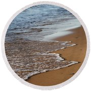 Pictured Rocks National Lakeshore Round Beach Towel